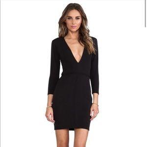 Bec & Bridge   Imperial V Black Bodycon Dress 2